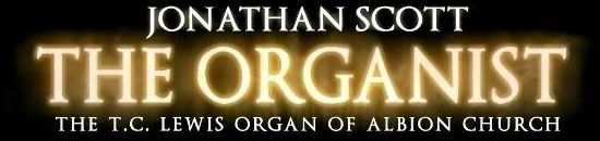 JONATHAN SCOTT THE  ORGANIST CD