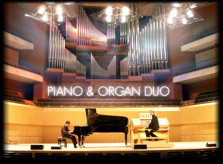The Bridgewater Hall - Organ and Piano